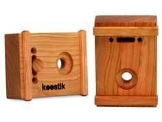 Mini Wooden Amplifier