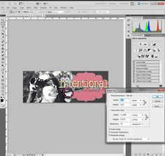 great tut from sweet shoppe designs -- how to save photos for FB timeline covers...
