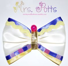 Hey, I found this really awesome Etsy listing at http://www.etsy.com/listing/156116349/mrs-potts-hair-bow