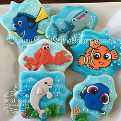 Finding Dory Cookies | by Sweet Scene Bakery