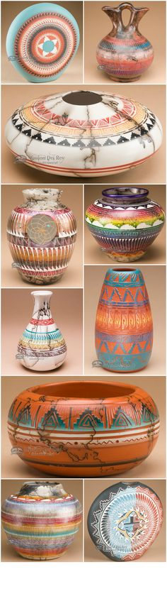 Find beautiful pieces of Native American pottery at http://www.missiondelrey.com/native-american-pottery/ #NativeAmericanJewelry