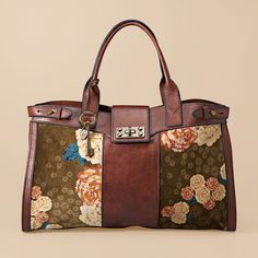Weekend Duffel Bags for Women | ... Re-Issue floral weekender is the perfect carry-on or overnight bag