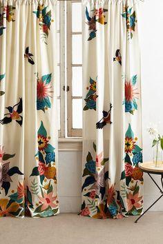 Soaring Starlings Curtain