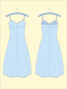 Free Pattern Download - Vintage Slip