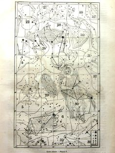 1903 star map of the southern skies  mapas  Pinterest  Star