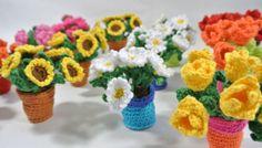 Kies de tulp, margriet, zonnebloem of het roosje.  Of maak ze gewoon allemaal...