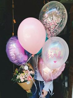 47 Ideas Flowers Gift Goals For 2019 Birthday Goals, Baby Birthday, Birthday Parties, Balloon Garland, Balloon Decorations, Balloons, Birthday Pictures, Birthday Images, Wedding Sweets