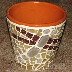 Mosaic Projects - www.GardensAndCrafts.com