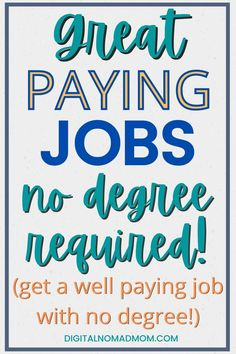 Learn how you can make a great income without having a college degree. From freelance work to traditional employment, there are lot of ways to make money without a degree.