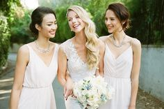 Happy National Bridesmaids Day! Tag your beautiful 'maids! Discover more bridesmaid dresses to rent at vowtobechic.com
