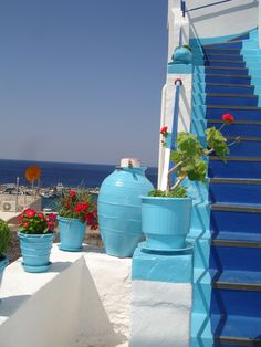 White and Blue of the Aegean ~ Andros island, Greece