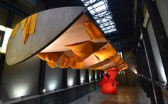 Tate Modern opens major new fabric sculpture installation by Richard Tuttle,   who calls it 'the first piece of the 21st century'