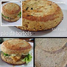 bom demais esse pão sem farinha e de microondas ainda.