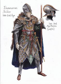 Numenorean Armor 2 Color by TurnerMohan on DeviantArt