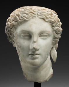 Head of Aphrodite - Roman Period Imperial Period, Antonine | about A.D. 138–192