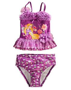 33f8378b15 Disney Store Princess Tangled Rapunzel Girl Twopiece Swimsuit 4T     BEST  VALUE BUY on Amazon  DisneyRapunzel