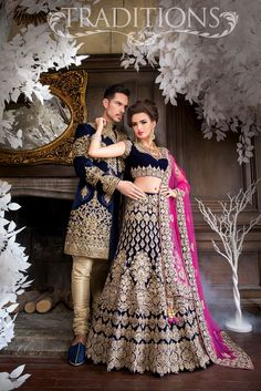 This is an Indian bollywood Pakistani wedding and party wear designer lehenga choli. clear neat embroidery done to achieve pure designer look. Asian Bridal Wear, Asian Wedding Dress, Indian Wedding Outfits, Bridal Outfits, Indian Outfits, Bridal Dresses, Eid Outfits, Eid Dresses, Indian Bridal Lehenga