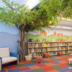 Children's Room with storytimes under the trees - Yelp