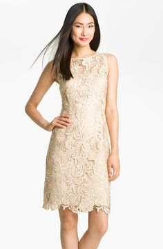 Adrianna Papell Lace Sheath