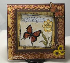 Beautiful Butterfly by Sands4ever - Cards and Paper Crafts at Splitcoaststampers