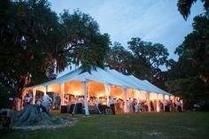 tent at night   Ashley Seawell #wedding