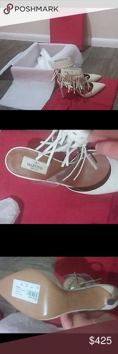Authentic Valentino Garavani Shoes! Authentic Valentino Garavani Fringe Heels, Size 9. These are brand new, never worn and absolutely stunning! They will come with the original tags, box and dust bag. Valentino Garavani Shoes Heels