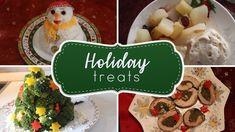 Ιδέες για το Πρωτοχρονιάτικο τραπέζι! 🎄 Xmas, Christmas Ornaments, Treats, Cheese, Holiday Decor, Food, Youtube, Yule, Xmas Ornaments