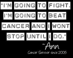 We can send a man to the moon, so we can crush cancer.