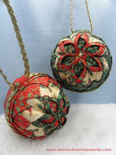 Tutorial 3D-flower ornament. Handleiding 3D-bloem ornament