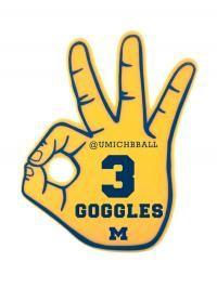 3 Point Goggles for Basketball Season