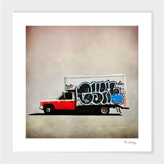 """Truck #4"" - Numbered Art Print by Tim Jarosz on Curioos"