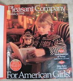 Holiday 1995 American Girl Catalog