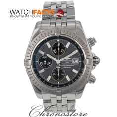 This Breitling is ALL THAT. Love the gray frace.  Certified #preowned by WatchFacts and available from our endorsed dealer Chronostore.