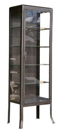 buffet meuble de rangement 6 casiers m tal gris style indus decoclico factory lifestyle. Black Bedroom Furniture Sets. Home Design Ideas