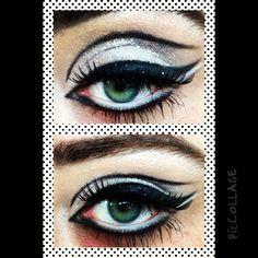 60's make up application at Los Angeles Make up School