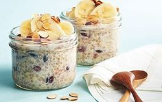 Eat Stop Eat To Loss Weight This quick and healthy chia oatmeal recipe is a perfect grab-and-go breakfast or snack. In Just One Day This Simple Strategy Frees You From Complicated Diet Rules - And Eliminates Rebound Weight Gain Healthy Brunch, Healthy Breakfast Recipes, Brunch Recipes, Healthy Cooking, Healthy Lunches, Protein Recipes, Healthy Recipes, Healthy Breakfasts, Healthy Options
