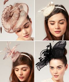 Fascinators, wish they were cool in the US.