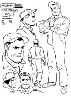 All stand before an Alex Toth model sheet! Description from charactermodel.tumblr.com. I searched for this on bing.com/images