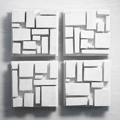 GALLERY White Acrylic Paint, White Acrylics, Wood Wall Art Decor, Wood Art, Sculpture Ideas, Wall Sculptures, Solid Gold Dancers, Wood Design, Modern Design