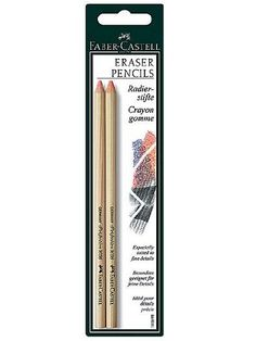 Faber-Castell Perfection Eraser Pencils pack of 2 [PACK O...