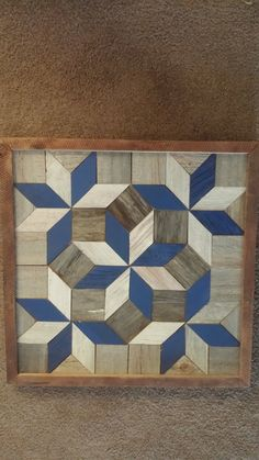 2ft by 2ft Decorative barn quilt by AmishCrafts on Etsy