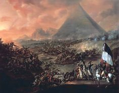 The Battle of the Pyramids, 21st July, 1798