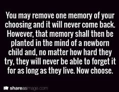 """I think some memories hurt because our personal """"emotional baggage"""" colors how we look at it. Without our """"interpretation"""" the memory might be a delight to others. What do you think?"""