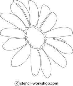 Flower Tattoo Stencils Lotus