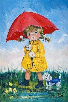 """""""April Showers""""  ~~  Artist ~Dallas Simpson~"""