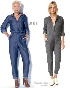 Sew the Look: McCall's M7330 jumpsuit sewing pattern