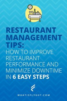 Follow these restaurant management tips to improve restaurant performance and minimize downtime of your wait staff and other employees. - Restaurant Management Tips #restaurantbusiness #restaurantmanagement #restaurantstaff #productivity #restaurantowner #restaurantperformance #restaurant #waitstaff #managementtips