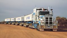 road trains in australia - Google Search