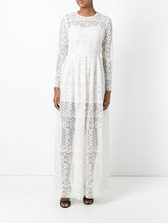 Philosophy Di Lorenzo Serafini long lace dress