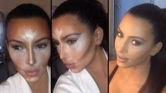 awesome video!! CONTOUR AND HIGHLIGHT LIKE KIM KARDASHIAN - STEP BY STEP, via YouTube.